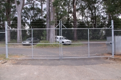 Security gates - Beerwah compound - CI-S13
