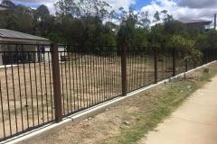 Aluminium Wood Grain Posts and Panels