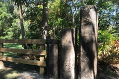 Vertical Stone Entrance