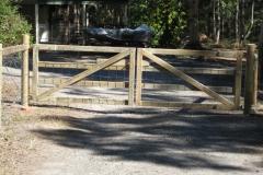 Pine double gates - LA-W13