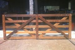 Custom made double gate - LA-W32