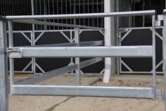 Steel stable gate - LA-S05