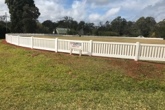 Commercial PVC Cricket Fence