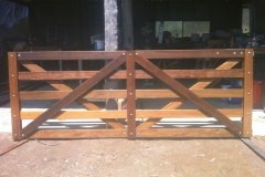 Custom made double gate - LA-W32