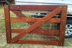 Custom made single gate - LA-W33
