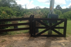 200 mm fence and gate - LA-W78