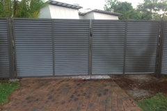Louvred fencing - RD-S15