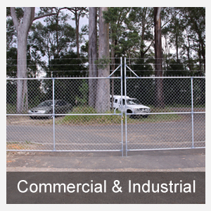 Commercial & Industrial Fencing